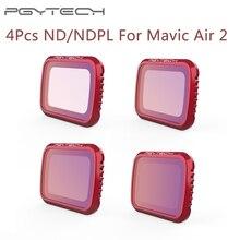 Ensemble de filtres dobjectif pour DJI Mavic Air 2 ND 8 16 32 64 PL, 4 pièces, Kit de filtres pour DJI Mavic Air2 ND8 ND16 ND32 ND64 PL