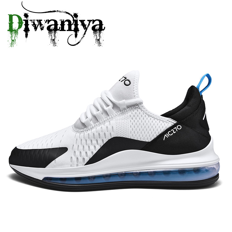 2019 New Mens Running Shoes Air Cushion Sports Shoes Comfortable Athletic Trainers Sneakers Outdoor Walking Shoes Plus Size 47