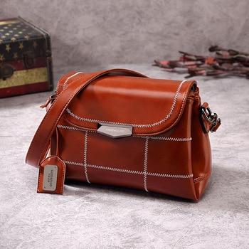 Women's Bags Luxury Bag Designer Vintage Shoulder Handbags For Women Simple Fashion PU Leather Messenger Bag Ladies Bags цена 2017