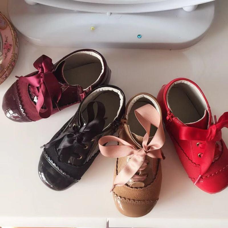 2019new Spanish Girls Boots Winter