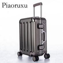 Полностью алюминиевый сплав, чемодан на колесиках, чемодан для путешествий, 20, для переноски, 25, 29, проверенный багаж