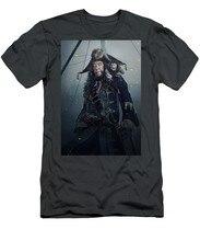 Piratas Do Caribe A Vingança De Salazar MenS T-Shirt(3)