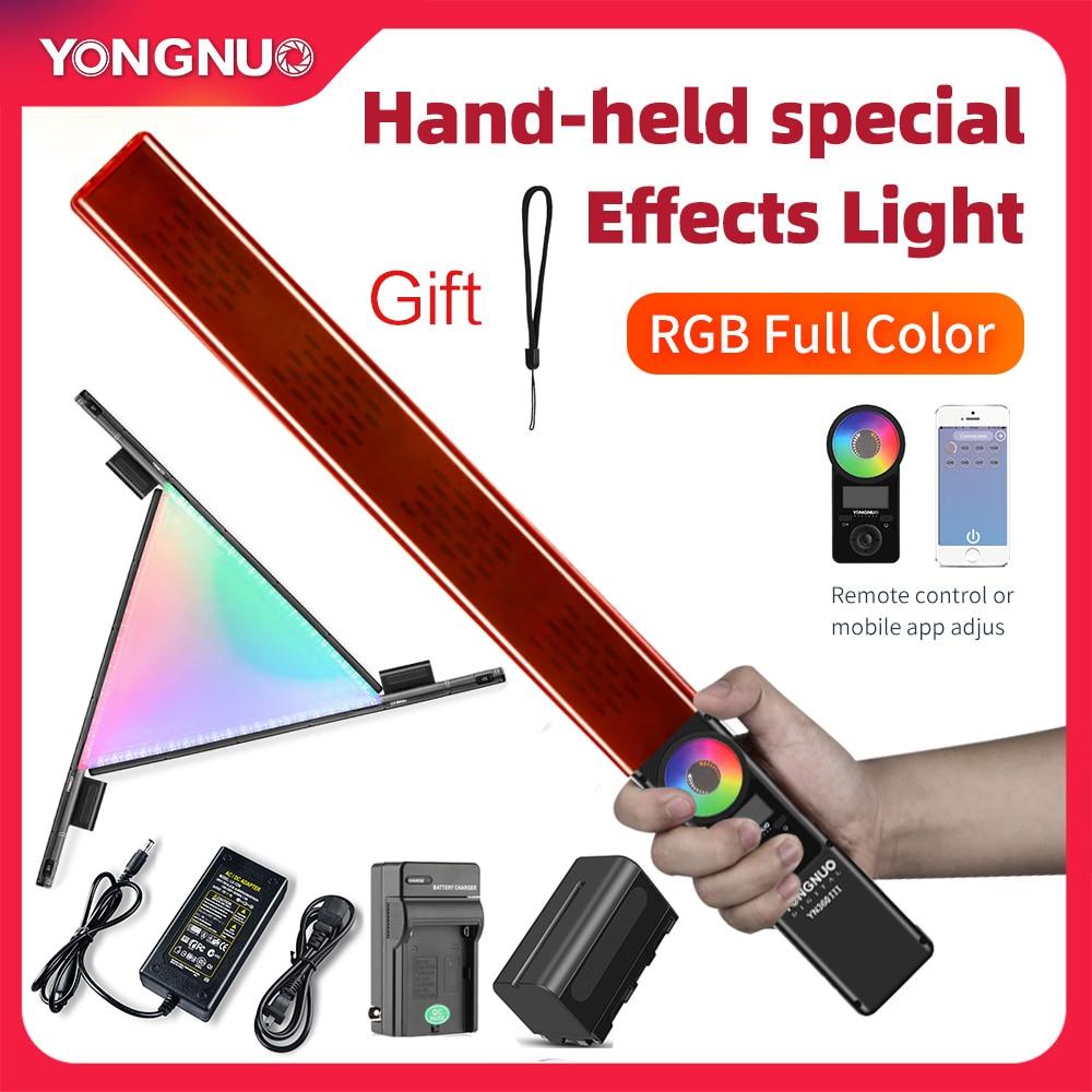 Yongnuo YN360 III YN360III Handheld 3200K 5500K RGB Colorful Ice Stick LED Video Light Touch Adjusting Innrech Market.com
