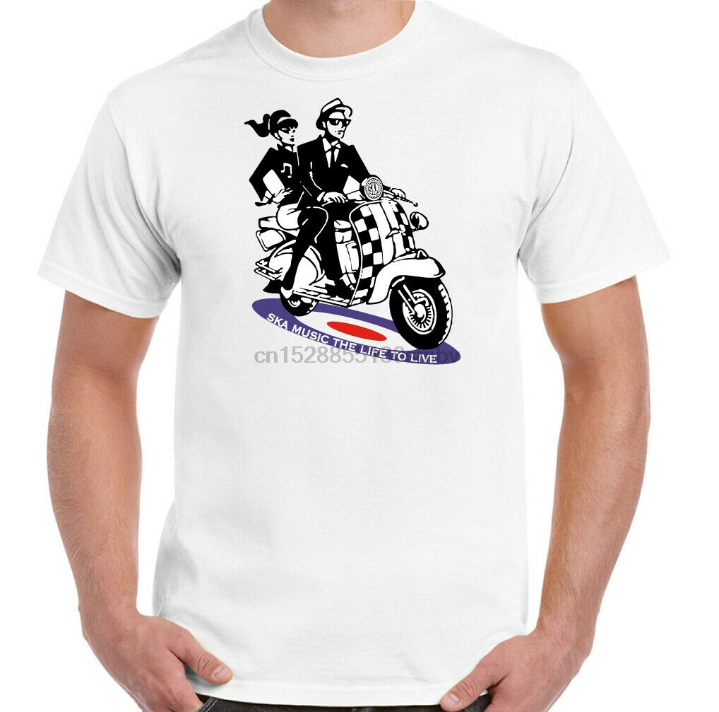 Moped inspired by Vespa Roller Style Kinder T-Shirt