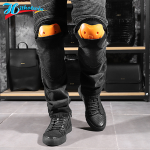 Image 5 - 2020 New 718 Motorcycle Pants Men Moto Jeans Protective Gear Riding Touring Motorbike Trousers Motocross Pants Moto Pants S 5XL