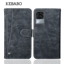 """Luxury Wallet Cubot X50 Case 6.67"""" Vintage Flip Leather Business Protective Cover For Cubot X50 Case With Card Slots"""