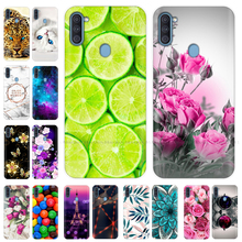 For Samsung Galaxy A11 Case Silicone TPU Soft Back Cover Pho