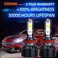 Лампа Ксеноновая OSRAM 9005 9006 HB4 HB3 светодиодный автомобилей головной светильник 9012 HIR2 HB2 h1 светодиодный лампы автомобильные аксессуары 6000K белы...