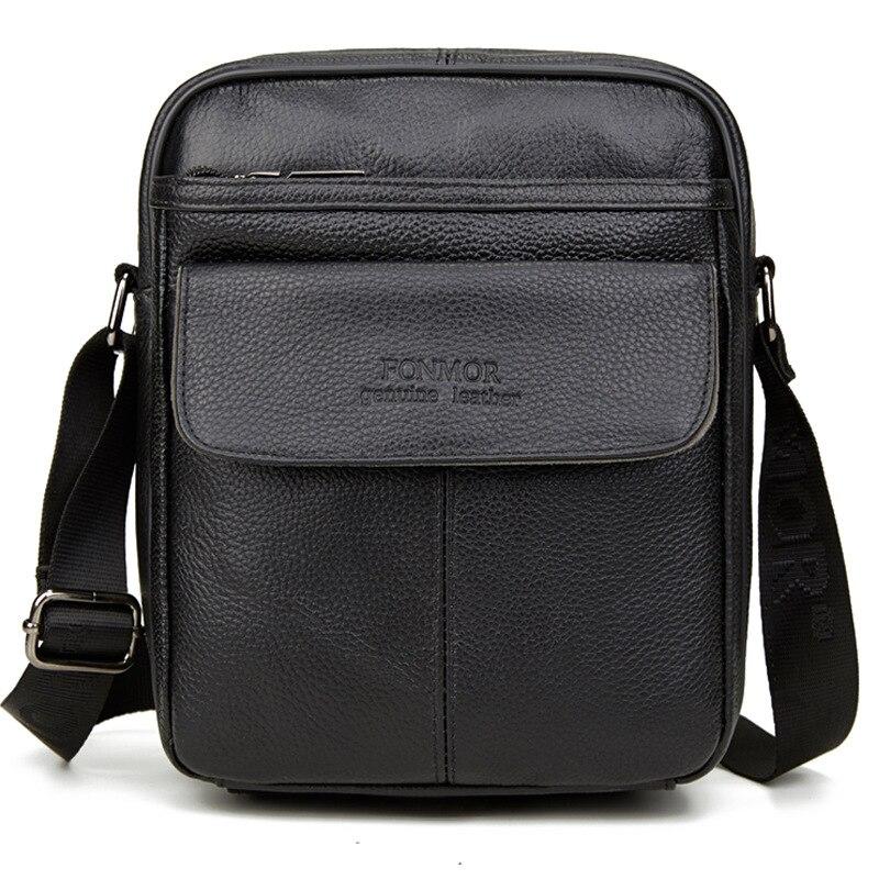 Винтажные кожаные сумки для мужчин, сумка Кроссбоди из натуральной кожи, мужская повседневная сумка на одно плечо, Мужская маленькая сумка мессенджер| |   | АлиЭкспресс