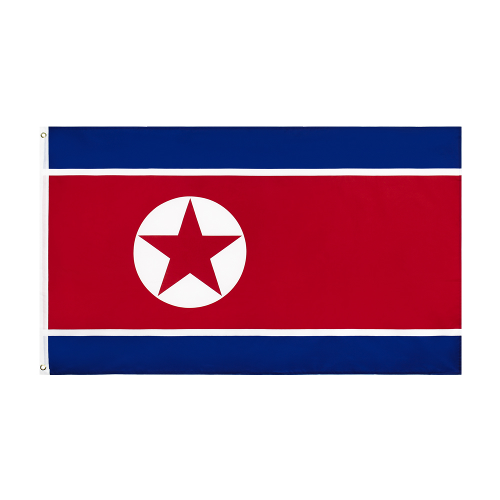 Xiangying 90x150cm PRK KP NK north korea flag image