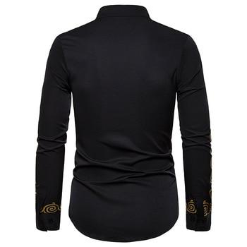 Lue's House Dashiki African Clothing Dress Shirts for Men