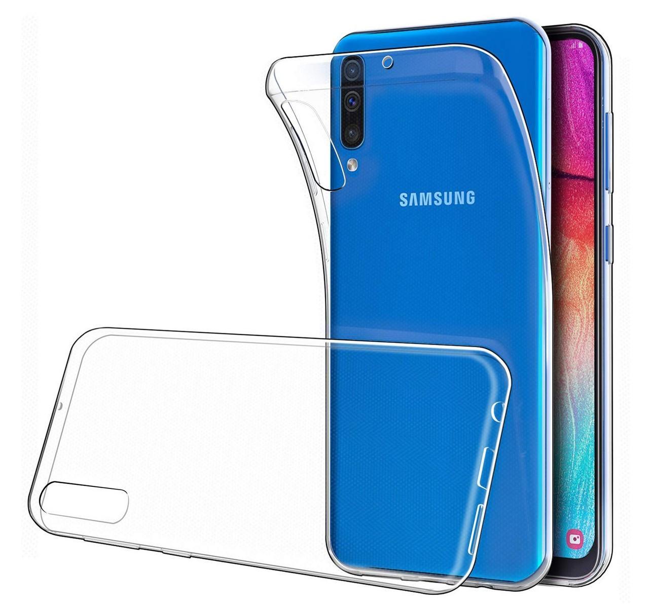 Funda De Gel TPU Carcasa Silicona Para Movil Samsung Galaxy A50 Transparente