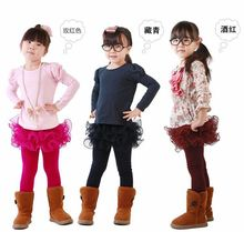 Leading Sales, New Childrens Winter Palette Leggins, Korean Pants Girls And Velvet Legginsamy