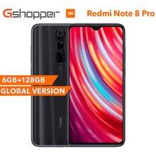 """הגלובלי גרסת Xiaomi Redmi הערה 8 פרו 6G RAM 128GB ROM Smartphone 64MP ארבעה אחורי מצלמה MTK Helio g90T אוקטה Core 6.53 """"4500 mAh"""