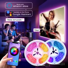 LED Strip Light RGB WiFi Smart Music Sync Waterproof 10M 32.8ft Tape Set for Party Home App Control