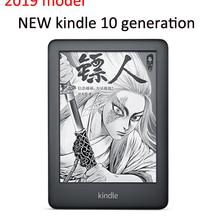 Kindle черный версия сенсорного экрана Дисплей, эксклюзивные Kindle программного обеспечения, Wi-Fi, 4GB для чтения электронных книг e-ink экран 6-дюймовый Электронные книги