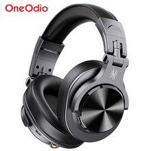 Oneodio fusão a70 bluetooth fones de ouvido estéreo sobre a orelha sem fio fone de gravação profissional estúdio monitor dj