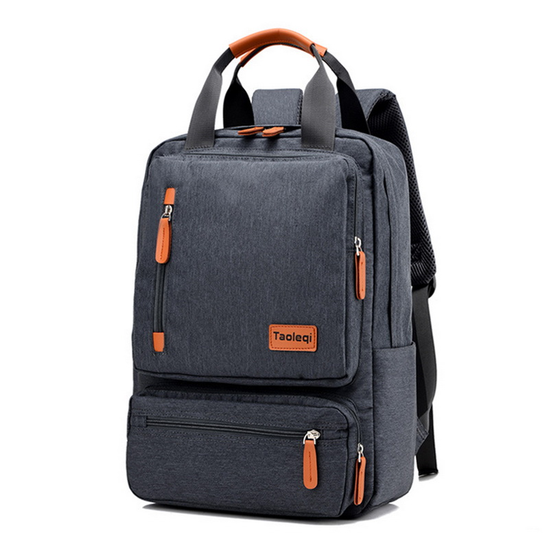 Men's Backpack Casual Business Notebook Backpack Light 15.6-inch Laptop Bag Anti Theft Backpack Travel Rucksack Black sac a dos image