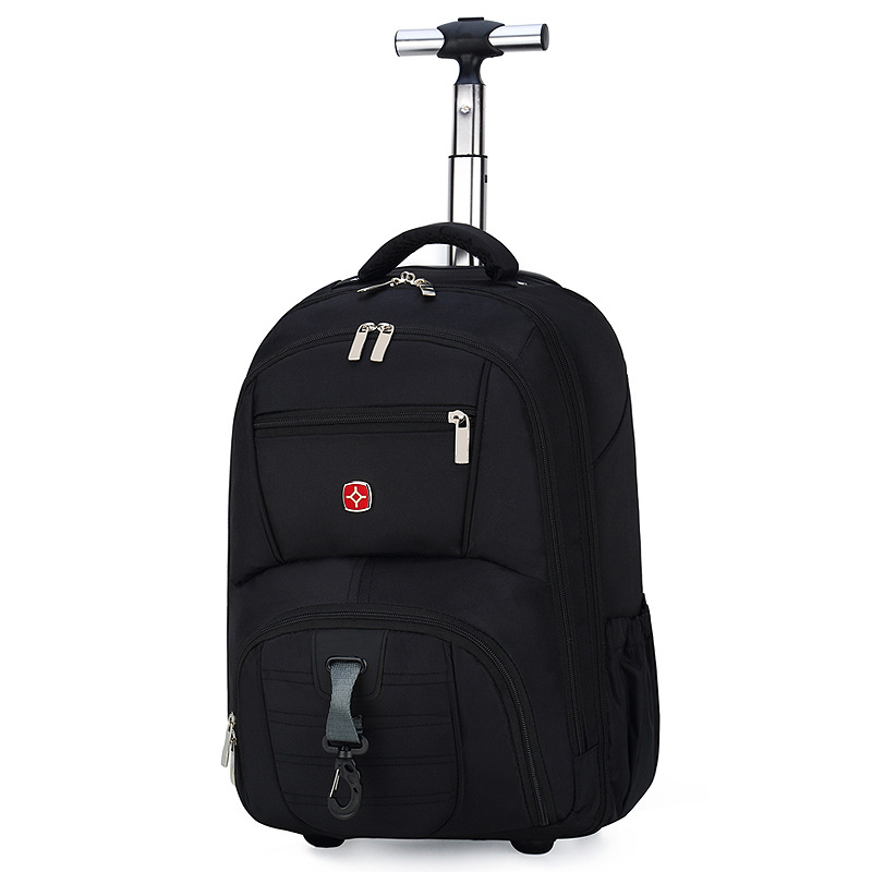 New Style Trolley Backpack 18-Inch Ultra-Light Travel Bag Adult Bar Shoulder School Bag Multi-functional Bar Bag Wholesale