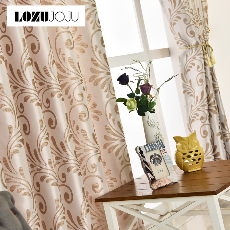 Free shipping Room curtains ready home blinds window panel window treatments green living Modern drapes new European black