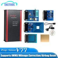 Newest V77 iPROG+ Prog Programmer iProg Supports IMMO/Mileage Correction/Airbag Reset Replace Carprog/Digiprog/Tango In Stock!!