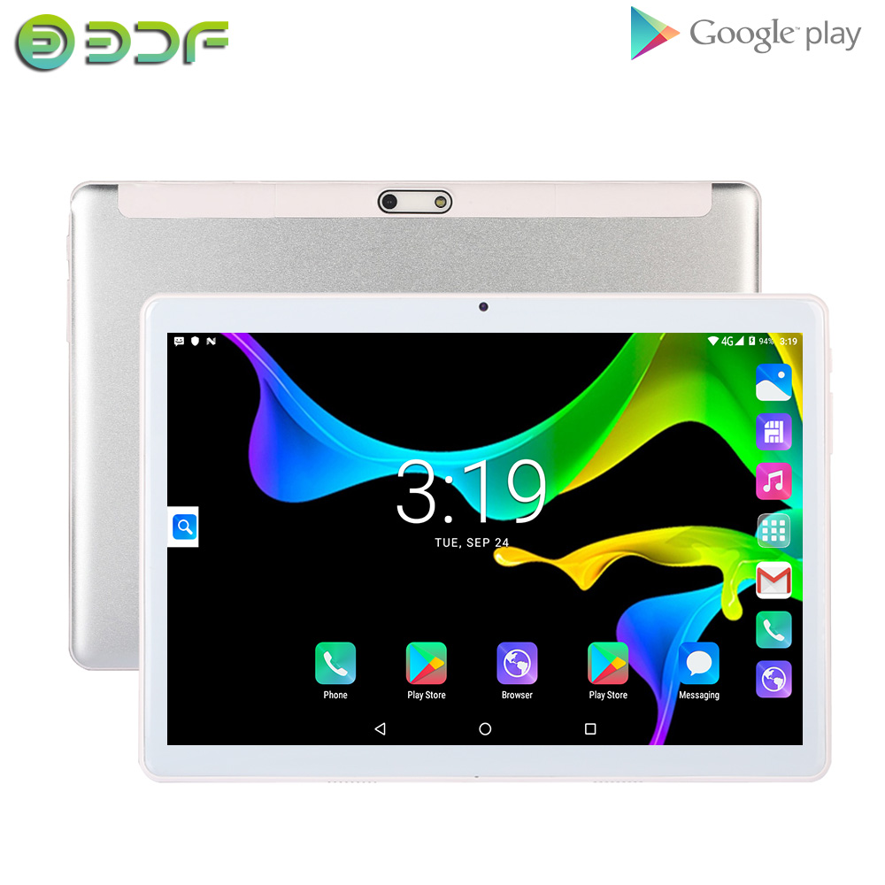 BDF 10 Inch Android 7.0 Tablet Pc 3G Dual SIM Card Phone Call Tablet 1GB/32GB WiFi Bluetooth  Android Tablet 10.1