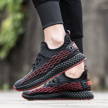 Autumn Sneakers Running-Shoes Air-Cushion Spring for Men  Lightweight Outdoor Breathable Sport