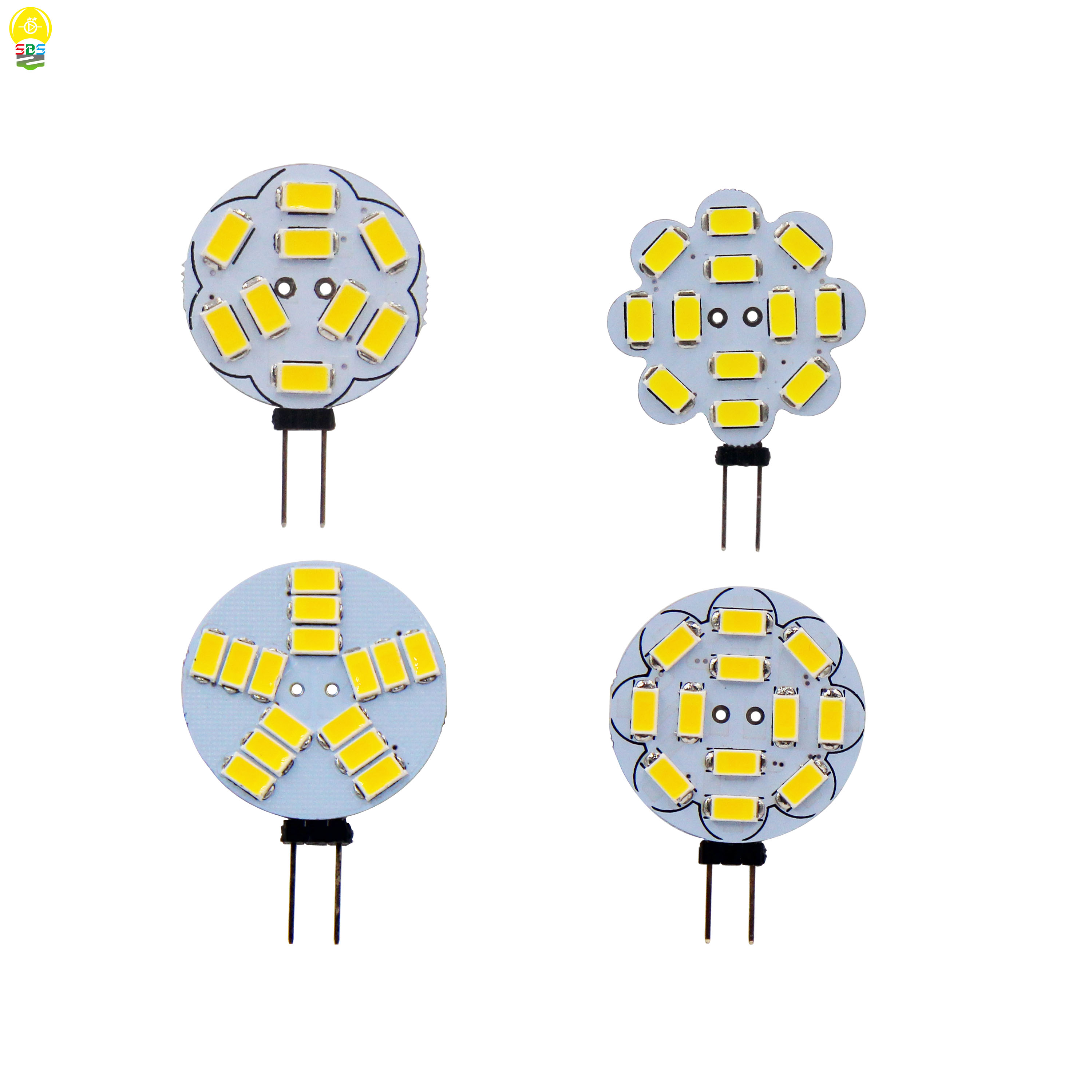 G4 Led Lamp 5W Bulb 2W 3W AC DC 12V 5730 SMD Replace Halogen Lamp 120 Degrees Beam Angle LED Bulb Lamps Warranty Lamparas