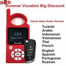 JMD Handy Baby Auto Keyเครื่องมือสำหรับ 4D/46/48/G/KingชิปCBAY Multi ภาษาชิปเครื่องถ่ายเอกสารG/96 บิต 48 + Super Remote