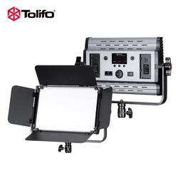 Tolifo GK-S60B PRO 600 LEDs CRI95+ Camera Photo LED Video Light High Bright  Bi-color Photography studio Light