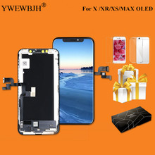 Grade AAA+ OEM For iPhone X S Max XR LCD Display Tianma AMOLED Touch Screen With Digitizer Replacement Assembly Parts