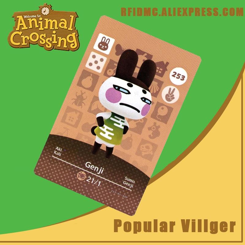 253 Genji Animal Crossing Card Amiibo For New Horizons