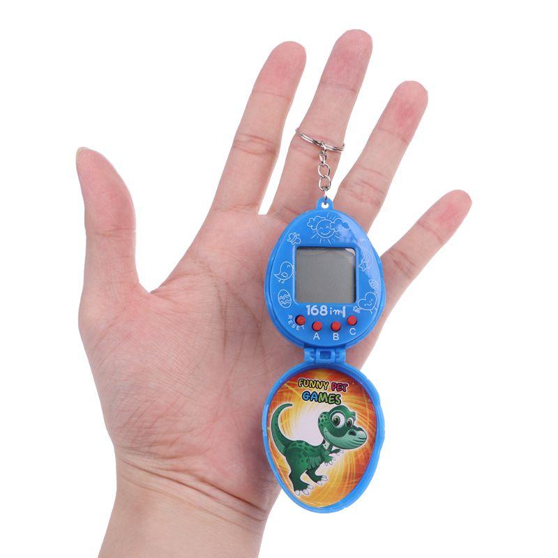 Virtual Cyber Pet Network Digital Retro Toy With Keychain 90s Nostalgic Machine