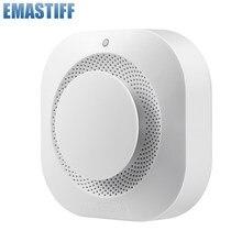 Detector de humo con WiFi para el hogar, Detector de humo con sensor de combinación de fuego, sistema de seguridad para el hogar, alarma contra incendios, independiente/Tuya