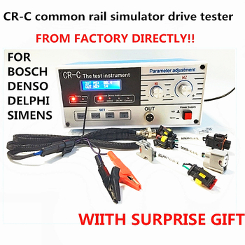 CR-C multi-function diesel common rail electromagnetic injector tester tool for BOSCHH, DENSSSO, DELPHIIi