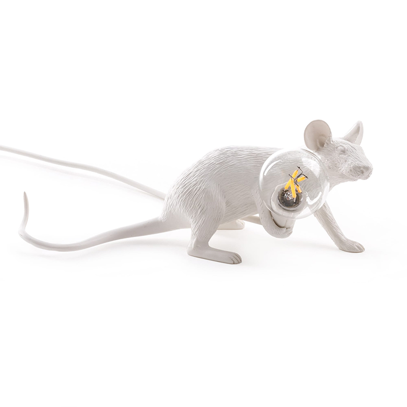 Nordic Mini Rat Night Lights Modern Cute Animal Industrial Decor Night Lamp Mouse Lamp Children's Bedroom Lighting Luminaires