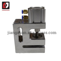Pneumatic punch machine butterfly hole puncher for PP plastic blister card