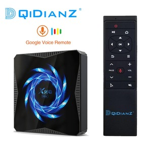 Image 1 - New Android 10 X96Q MAX Smart TV Box Allwinner H616 2.4G 5G WiFi Bluetooth 4K Media Player Android TV Box X96Q Smart TV BOX
