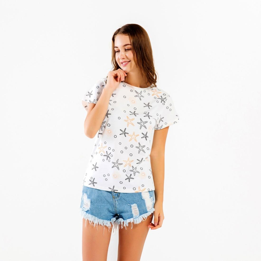 New Women T-shirts Casual Love Printed Tops Tee Summer Female T Shirt Short Sleeve T Shirt For Women Clothing KZH
