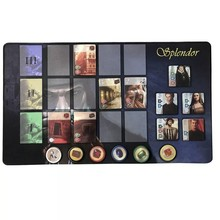 Customize Splendor Game High Quality Rubber Playmat  for Splendor board Game 60X35 cm женское платье quality of national splendor zs14l1155 2015