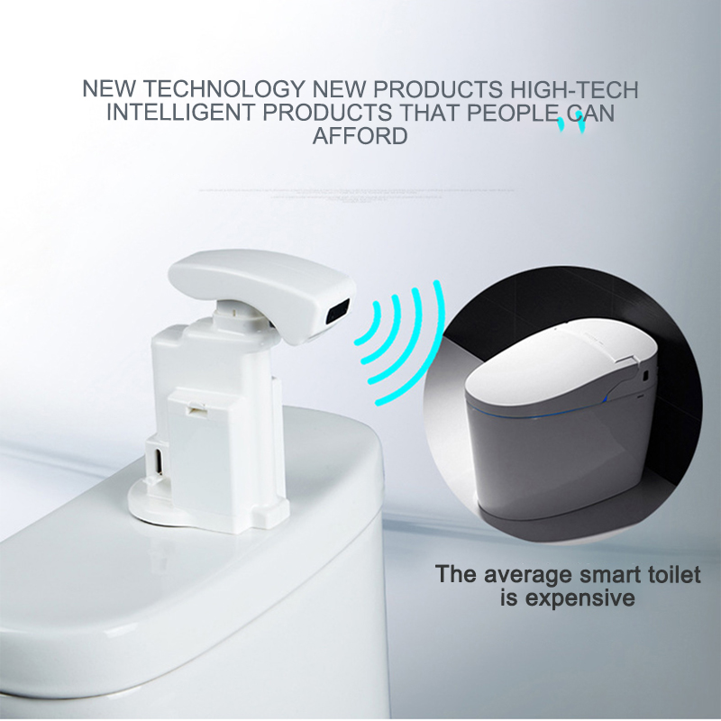 Bathroom Toilet Urinal Flush Valve Smart Touchless Infrared Sensor Automatic Urinal Flusher DC 4.5V/AC 220V Toilet Parts