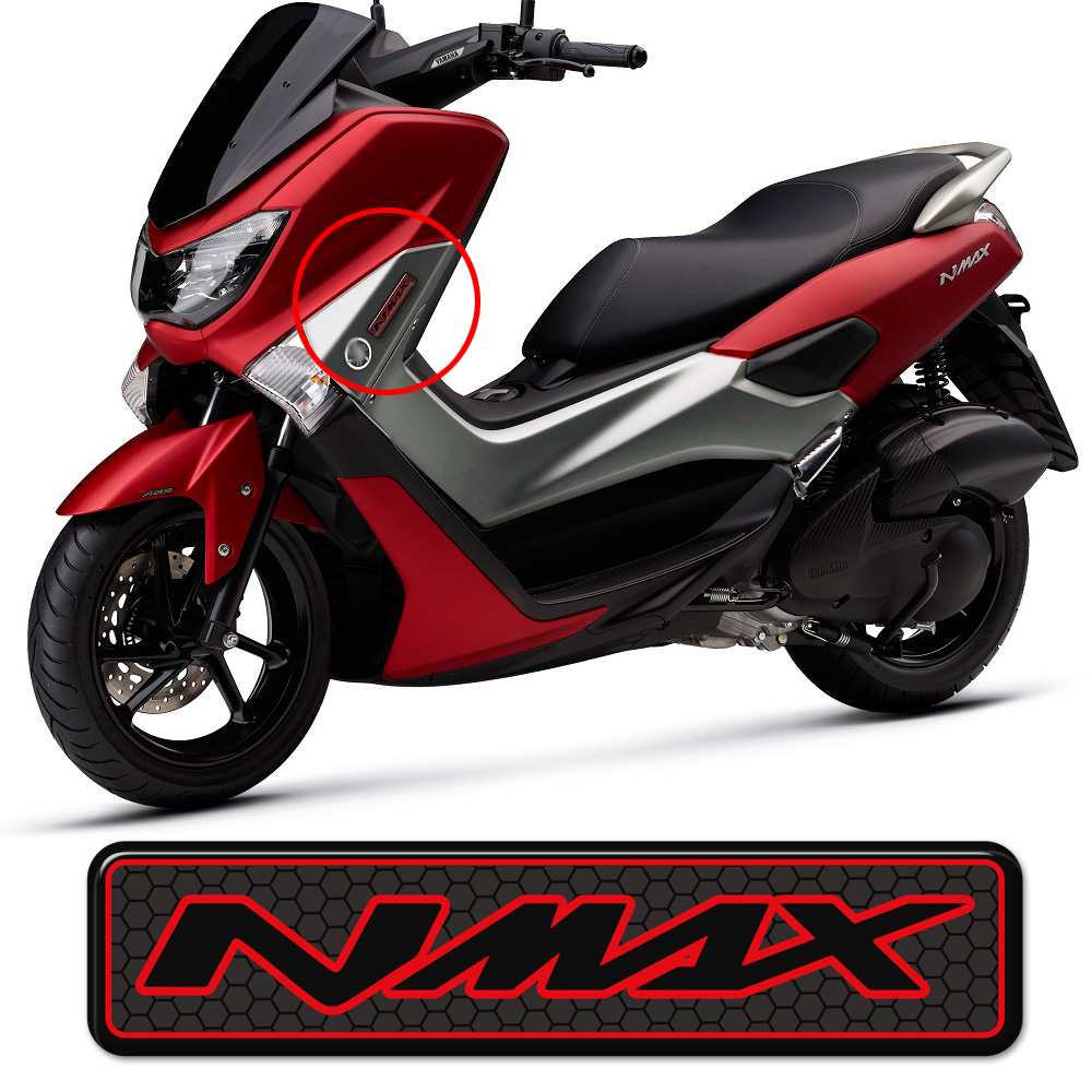 Motorcycle 3D <font><b>Stickers</b></font> For <font><b>Yamaha</b></font> <font><b>NMAX</b></font> N MAX N-MAX 125 155 160 250 400 Decals Tank Emblem Logo 2016 2017 2018 2019 2020 image