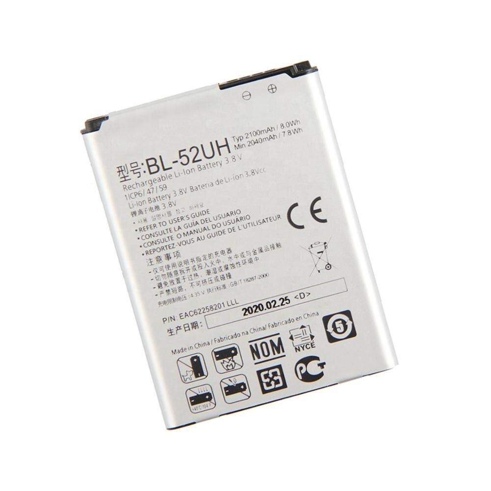 Купить pinzheng 2100 ма/ч bl 52uh батарея для lg spirit h422 d280n