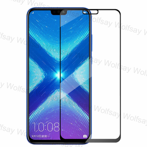 Image 3 - 2,5 D Volle Abdeckung Screen Protector Für Huawei Honor 9A 9C 9S X10 8X 9X 20 Lite Glas Für huawei Y9S Y8P Y7P Y6P Y5P Gehärtetem Glas