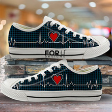 FORUDESIGNS 2020 Fashion Women Vulcanized Shoes