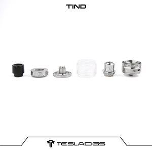 Image 5 - TESLA P226 Mod 용 0.18ohm TS X3 메쉬 코일이 장착 된 Teslacigs Tesla Tind Tank 28mm 직경 4.5ml 메쉬 탱크 아토 마이저