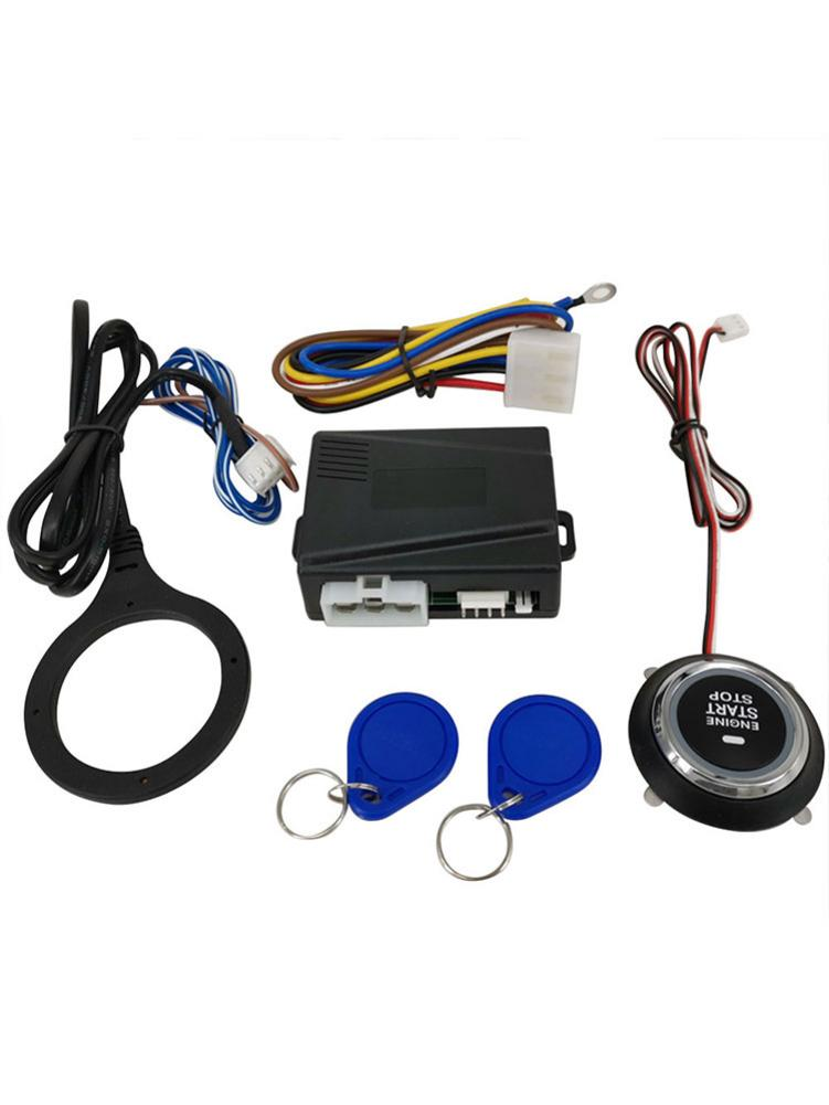 Car Start Stop Engine System Keyless Entry System Start Stop Button Push To Start Engine Auto Start Ignition Button For 12V Car