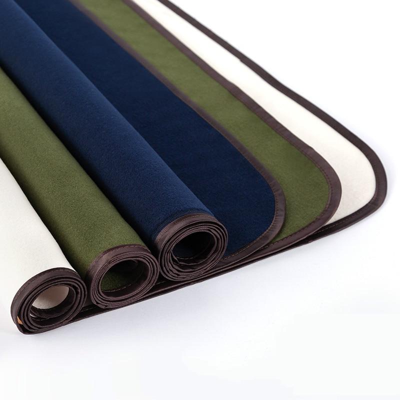 1pcs Felt Mat Pad Blanket Peinture Feutre Chinese Brush Calligraphy Ink Painting Felt Mat Pad Woolen Calligraphy Sumi-e Tool