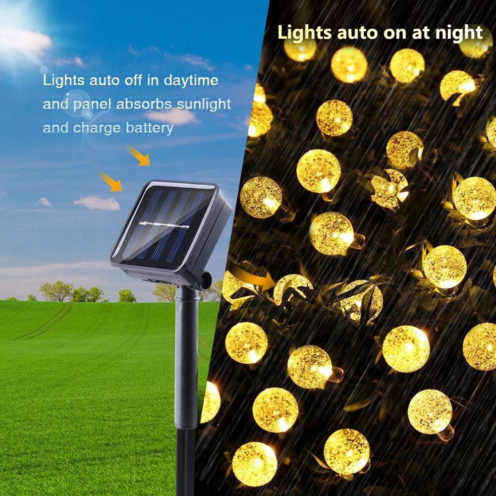led solar jardim luz à prova dwaterproof água poupança de energia