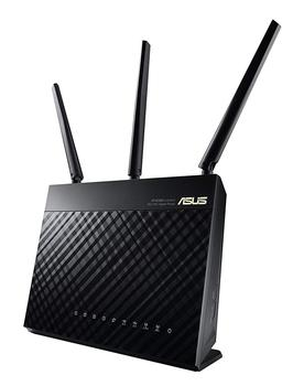 ASUS RT-AC68U Whole Home Dual-Band AiMesh WI-FI Router Upgradable Merlin AC1900 1900 Mbps AiProtection Network Security by Trend точка доступа asus rt ac68u